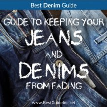 Guide to keeping your jeans and denims from fading