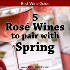 5 Rosé wines to pair with spring