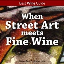 When street art meets fine wine