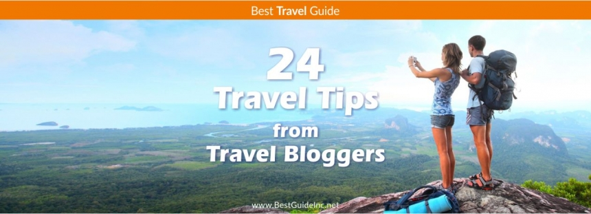 24 Travel tips for travel bloggers